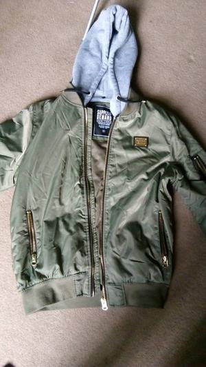 Olive supply & demand bomber jacket