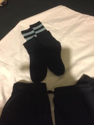 Cherwell school boys navy sock and shorts size L