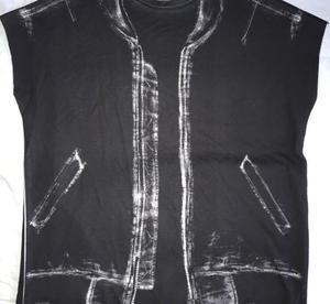 ZARA X-ray jacket t shirt