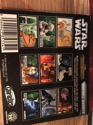 3 unopened Star Wars quote magnets