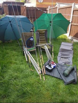 Fishing equipment for sale, all in good condition. Need gone asap. £200 ono.