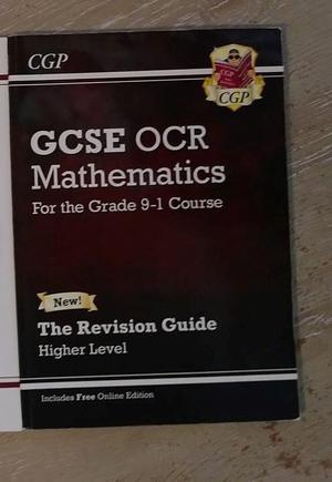 GCP OCR Maths GCSE 9-1 course Revision Guide for higher level