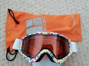 Kids Ski helmet and goggles