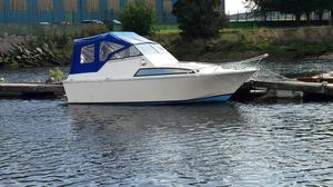 Birchwood 22ft Interceptor Boat With Twin Posot Class