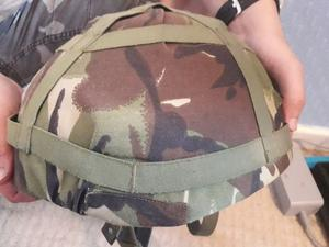 British army para helmet