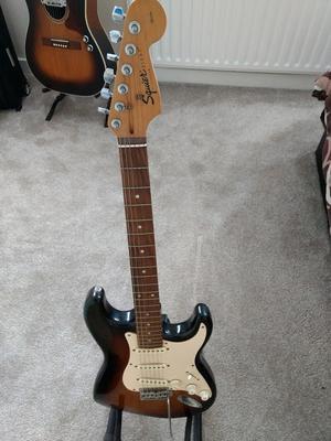 Fender Squire Strat Reduced