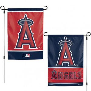"""Los Angeles Angels MLB Garden Flag Double Sided Licensed 12"""""""