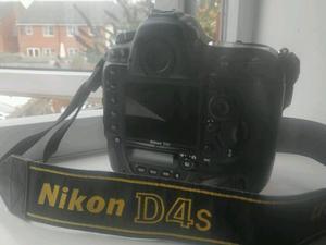 Used Nikon D4s camera