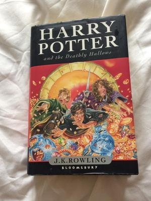 First Edition Hardback JK Rowling Harry Potter book