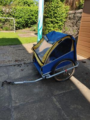 Kids Bicycle trailer fits two kids