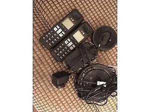 Two BT home cordless phones for sale genuine reason with answering machine ONO