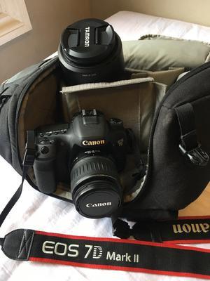 Canon EOS 7D Mark II + Tamron F/mm + Equipment