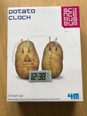 Potato Clock Game