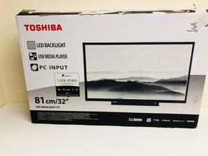 Toshiba 32-inch TV For Sale;Includes Freeview HD/New