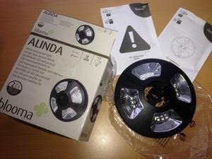 Blooma Alinda Black Parsol light LED battery operated - 2 boxes for £25 brand new