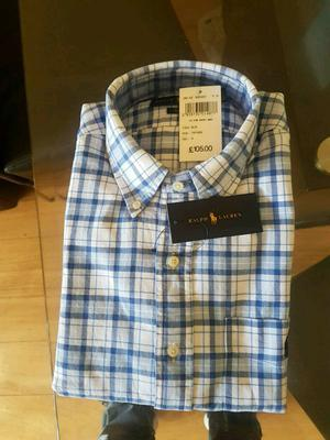 Brand new with tags ralph lauren long sleved shirt