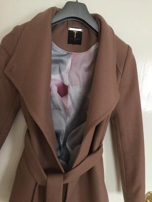 Ted Baker beautiful designer Jacket,formed from a blend of wool and cashmere,