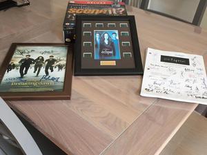Twilight merchandise including film cells