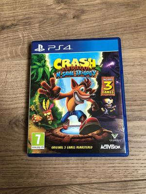 Crash Bandicoot N-Sane Trilogy 3 Games PS4