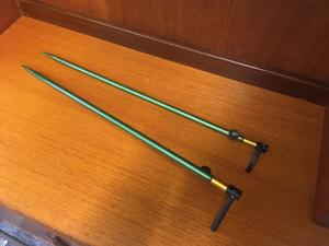 Fishing rod pole stands equipment