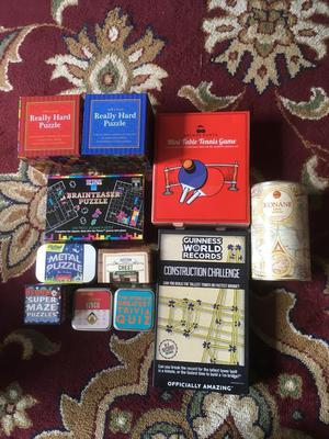 Job lot of puzzles and games just £5
