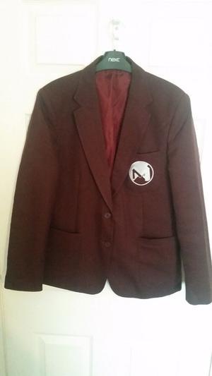 """Macmillan Academy School Blazer by """"Ziggys"""" Boys Size """" inch chest size"""