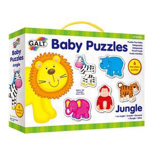 Galt Toys 2 Piece Baby Puzzles Wild Jungle Animals