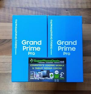 SAMSUNG GRAND PRIME PRO  - UNLOCKED TO ALL NETWORKS - BRAND NEW