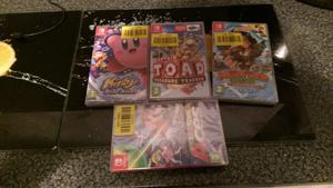 switch games x 4 brand new