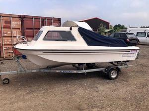 16' Seahog Bay Hunter Cuddy Fishing Day Boat (No Outboard or Trailer included)