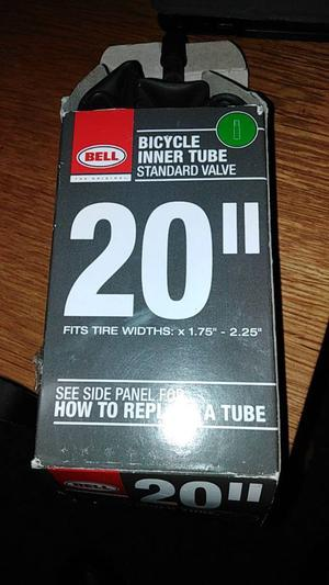 Bell bicycle inner tube with standard valve