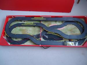 ELECTRIC MICRO SLOT RACING CARS IN BOX