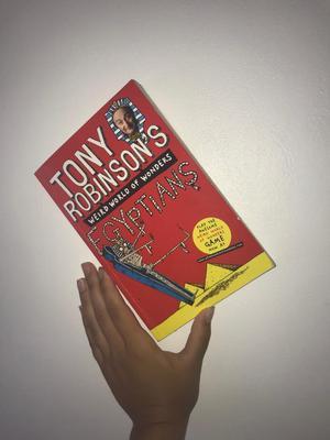 Egyptians by Tony Robinson - Signed