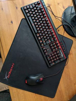 HyperX Keyboard,Mouse,Mat