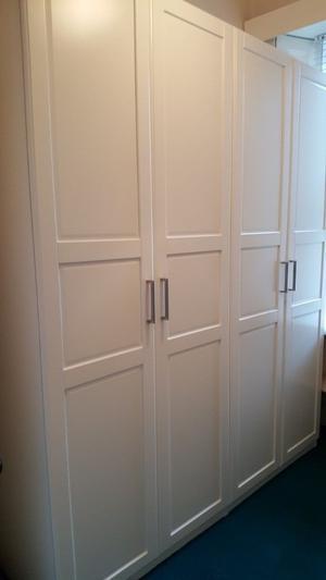 Ikea Pax Fevik Frosted Glass Wardrobe Doors Posot Class