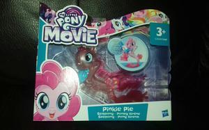 """NEW My Little Pony The Movie Pinkie Pie Seapony 5"""" Figure 3+"""