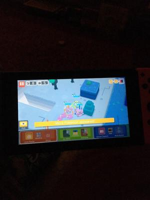 Neon Nintendo switch like new, less than a month old, with mario odyssey, Zelda and Mario kart
