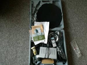 Portable digital satellite system for caravan or camping