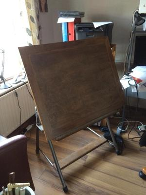 Vintage Architects / Engineers drawing board / table/ desk