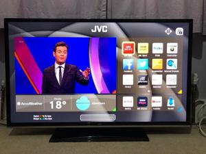 "40"" JVC LED SMART TV WIFI SLIMLINE FULL HD USB FREEVIEW HD CAN DELIVER"