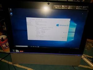 Acer aspire  all in one desktop pc machine