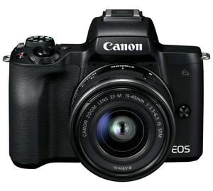 Canon EOS M50 Mirrorless Digital Camera with mm Lens