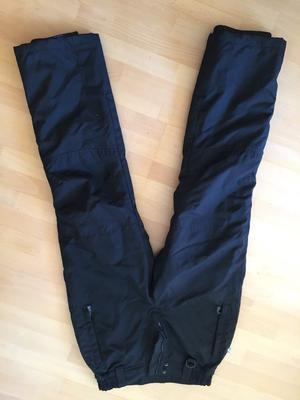 Men's or boys black ski trousers for sale. Parallel technical wear. Excellent condition.