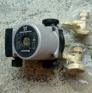 New grundfos central heating pump and valves