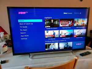 Sony 40 Inch Full HD p LED LCD TV With Remote