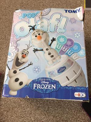 Tomy pop up Olaf