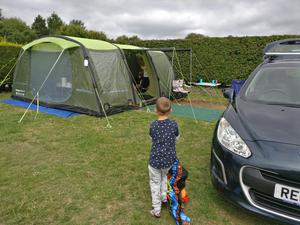 6 berth canvas frame tent sunncamp chateau 6 | Posot Class