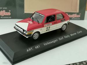 Detail Cars Platinum - Volkswagen Golf Rally Monte Carlo. Mint Cond. Boxed