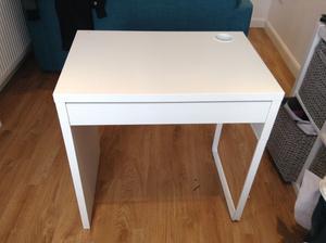 IKEA small white desk