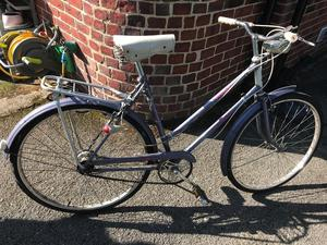 Raleigh Caprice Ladies Bike Dynamo Lights